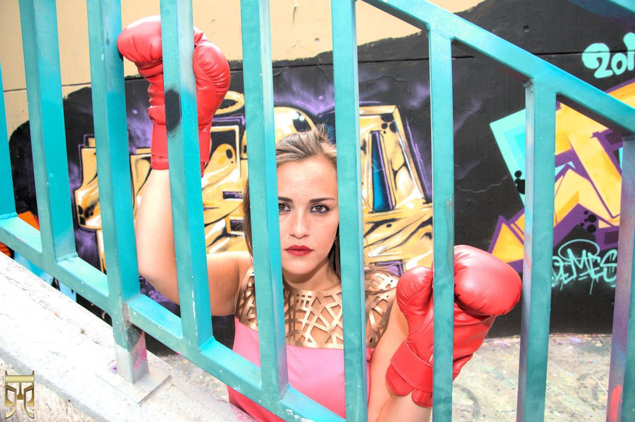 Rose en cage