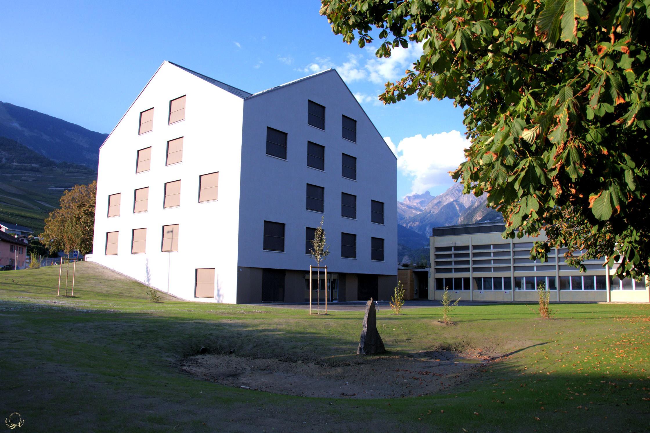 Nouveau bâtiment communal de Conthey