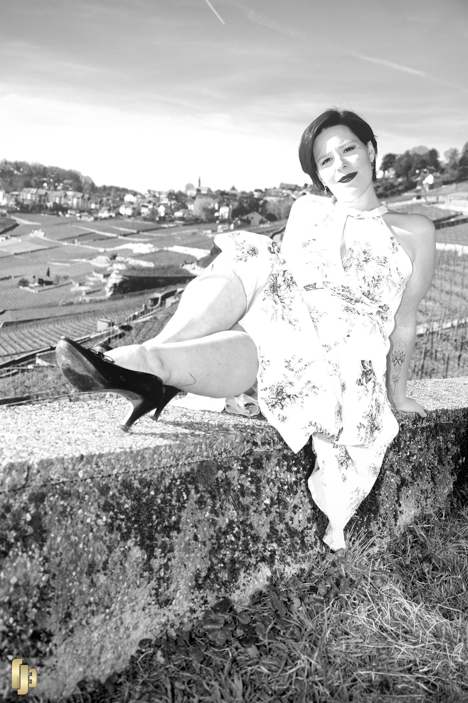 Détente en noir et blanc