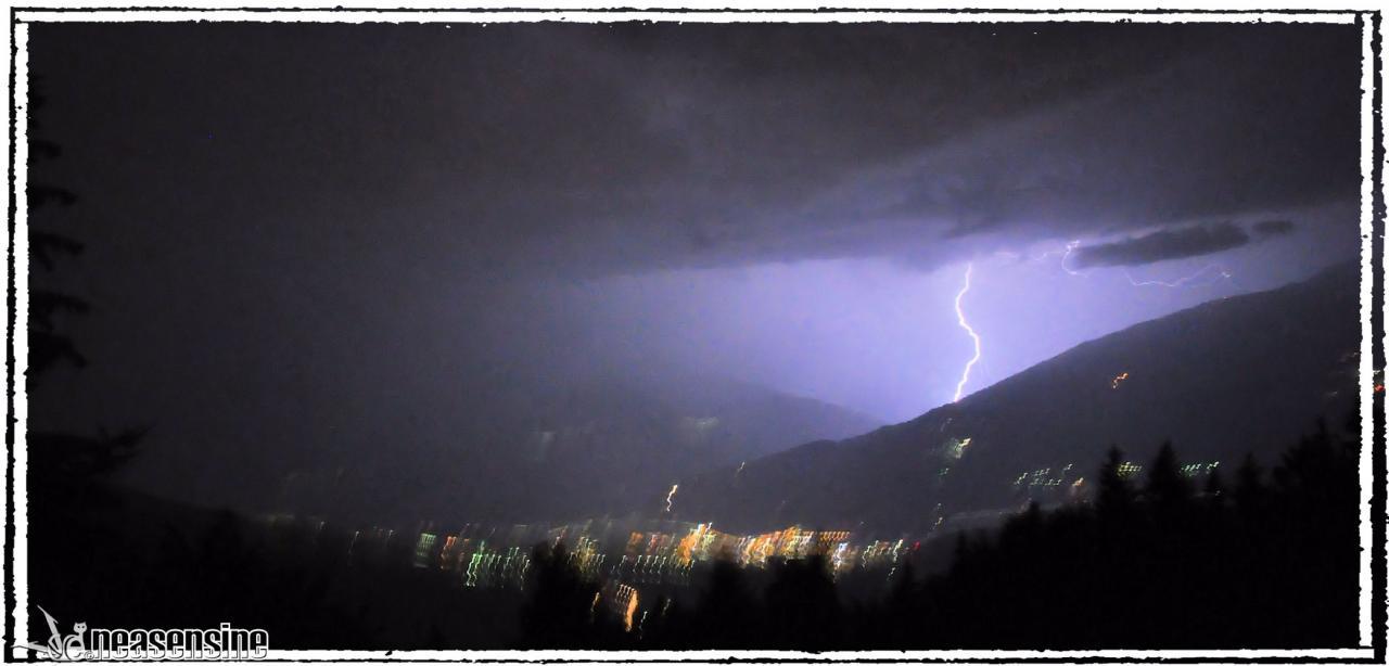 Coup de foudre sur le Val d'Hérens