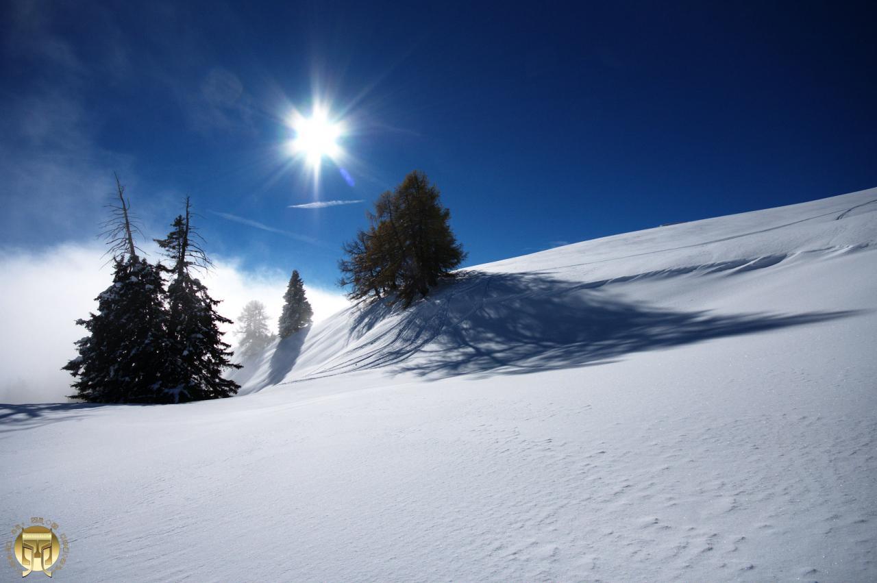 Eblouissante journée sur l'alpe