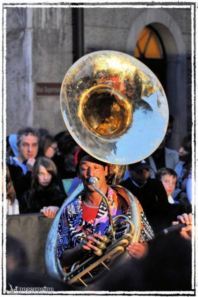 Le joueur de Sousaphone