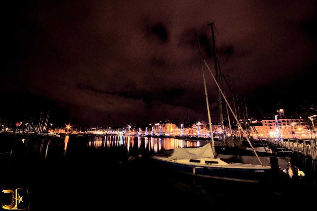 Le port de Ouchy-Lausanne
