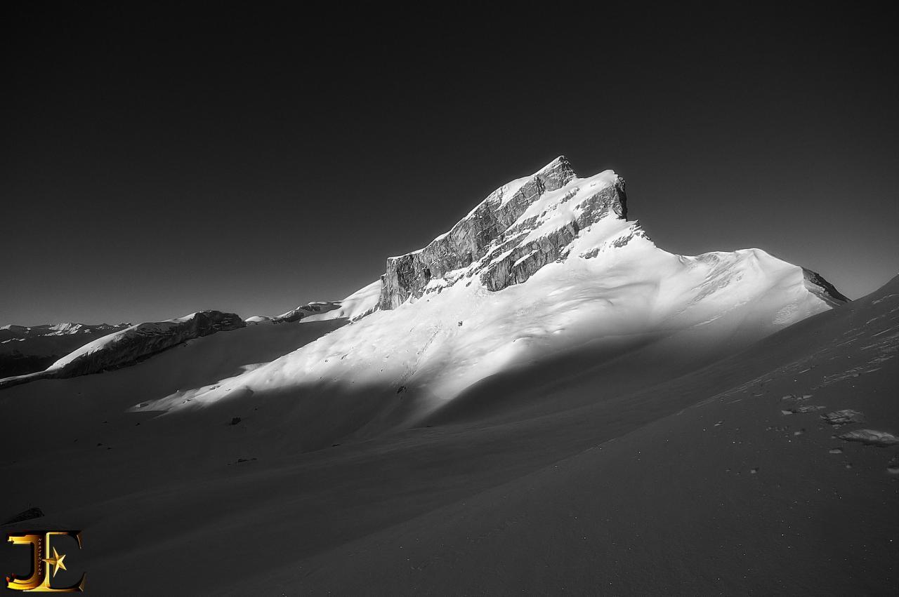 Lever de soleil sur Mont-Gond