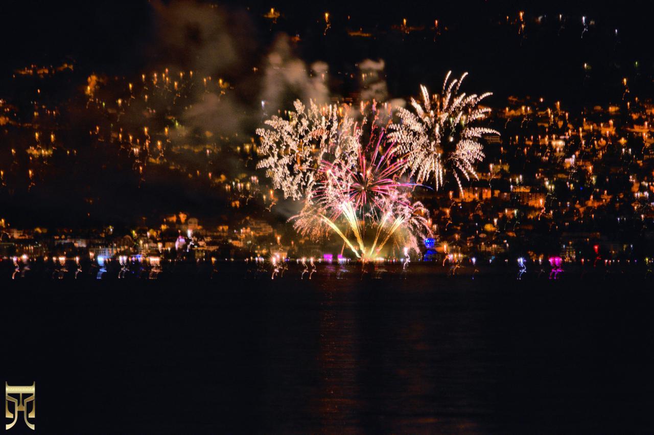 Le 15 août à Evian
