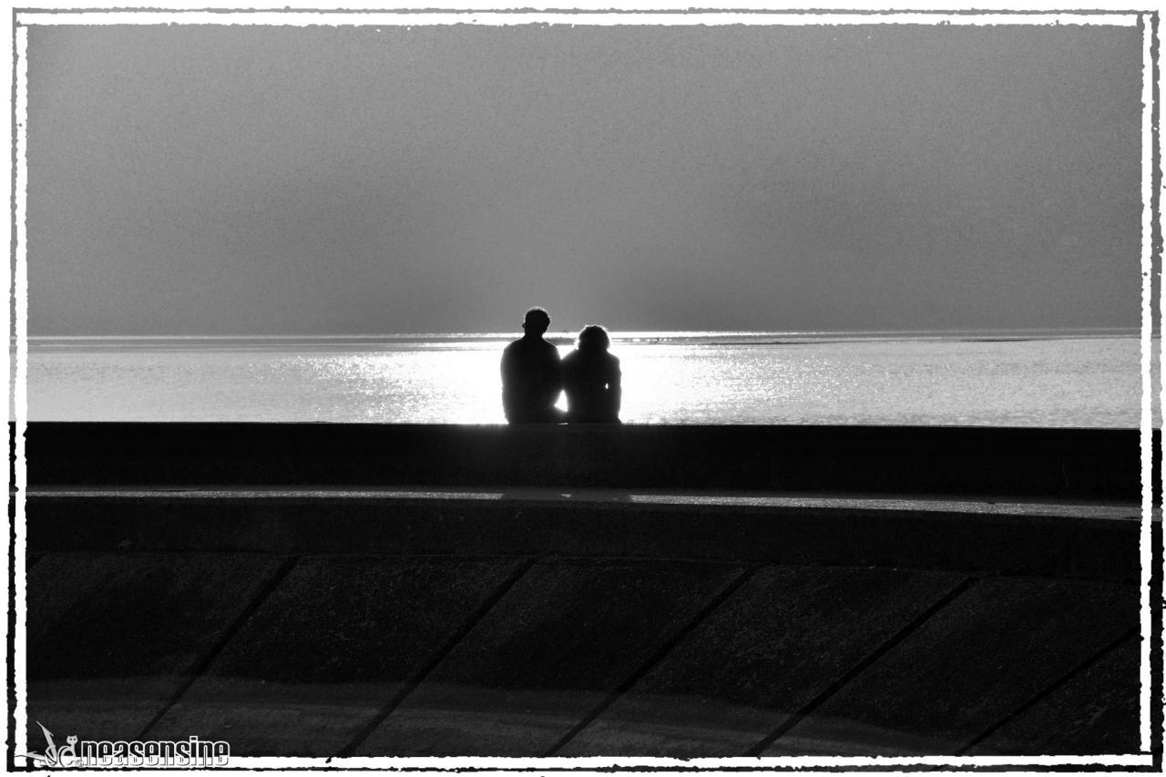 Romantisme au bord de l'eau