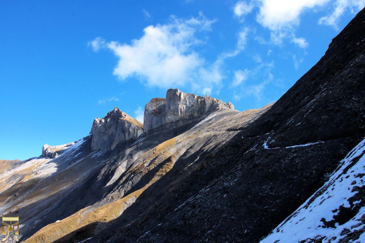 Le massif de la Fava et le chemin de l'Achia