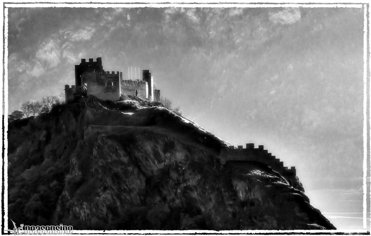 La forteresse de Tourbillon