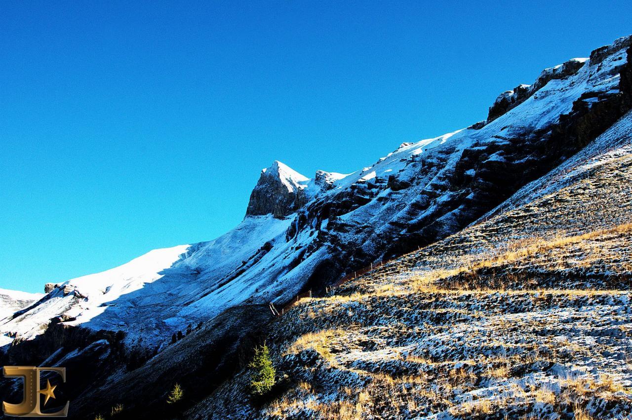Mont-Gond trône