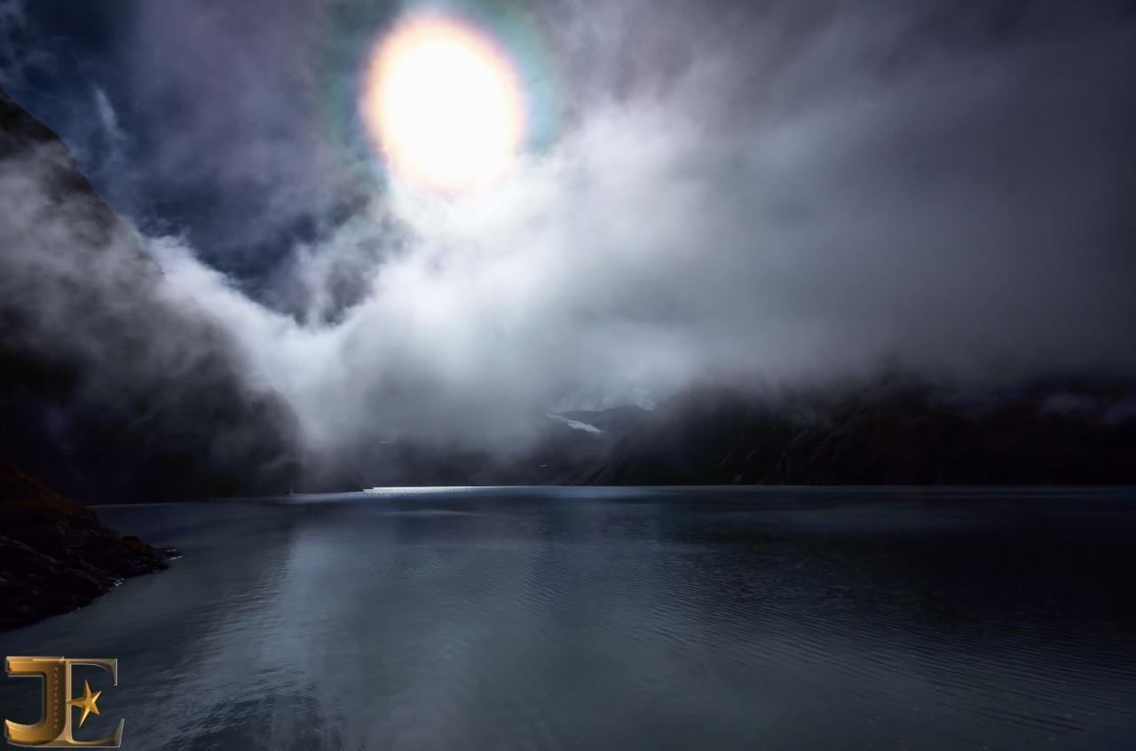 Le lac des Dix