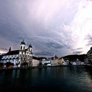 Luzern après l'orage