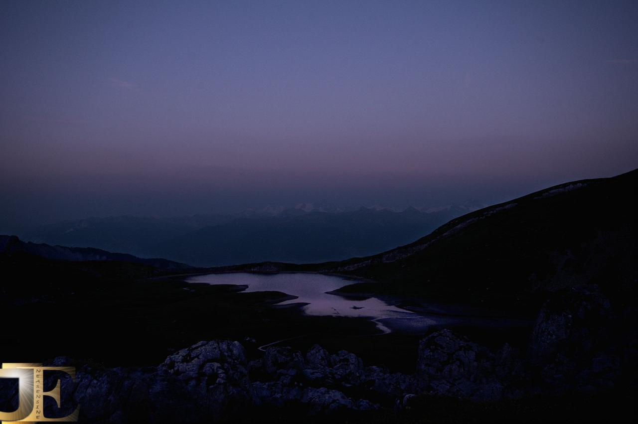 Crépuscule sur le Trente-Pas