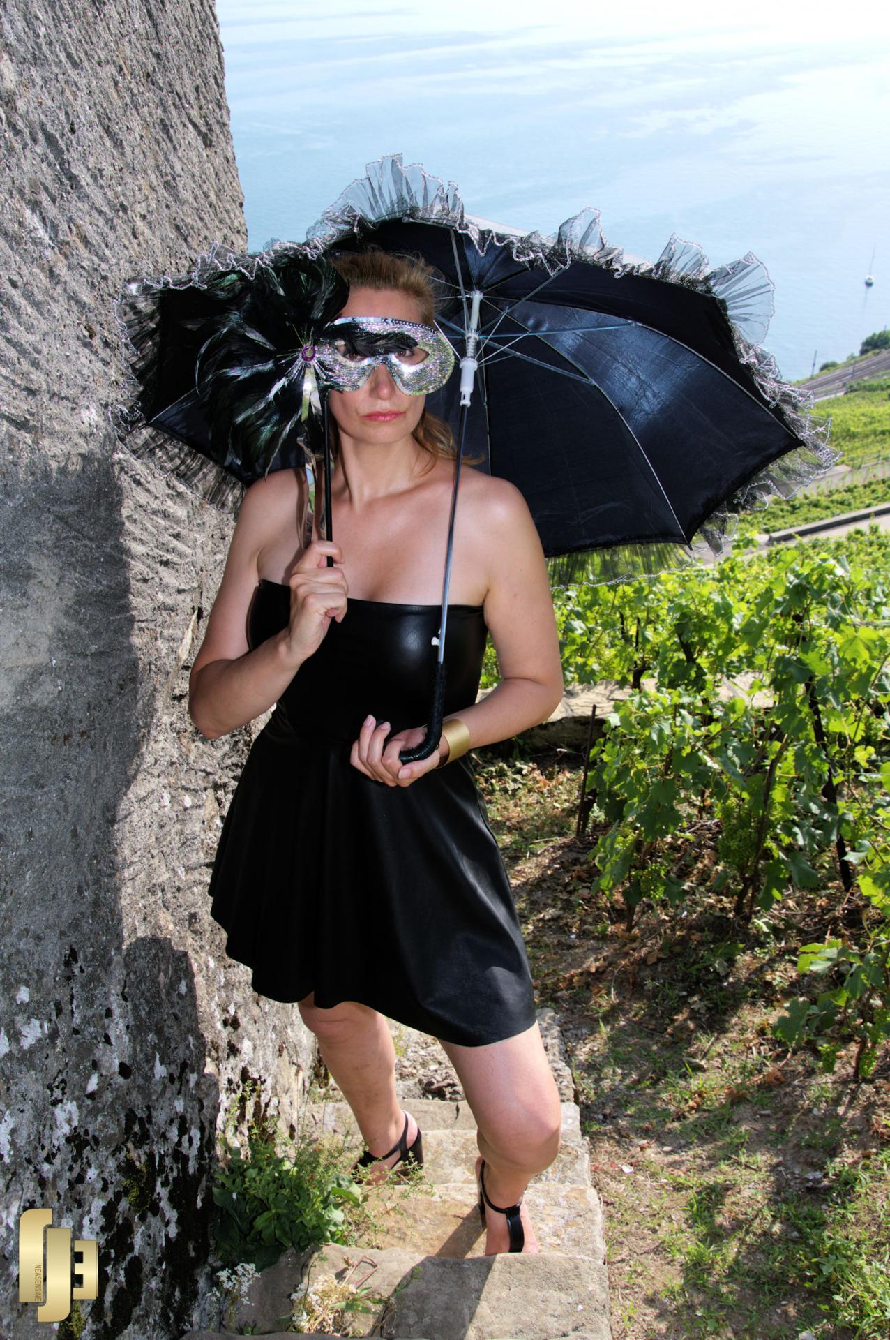 La vigneronne monte à sa vigne