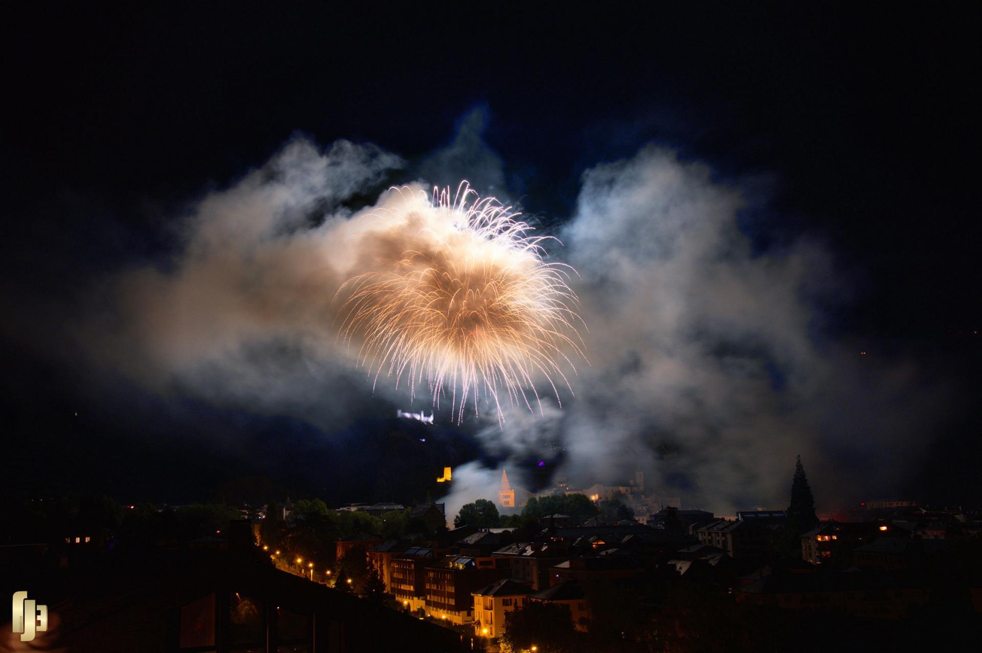 Fête nationale 2018, à Sion